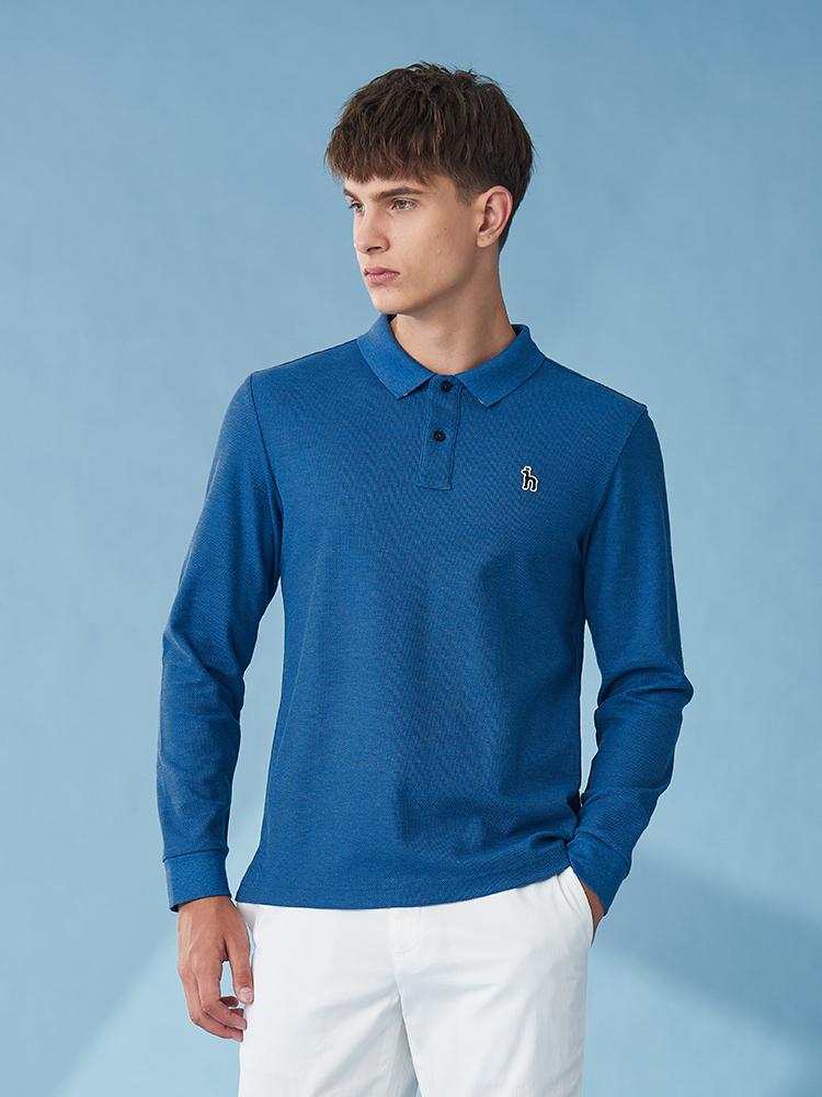 素色基本POLO衫