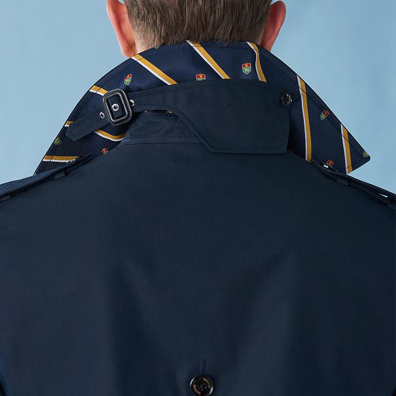 经典双排扣战壕风衣