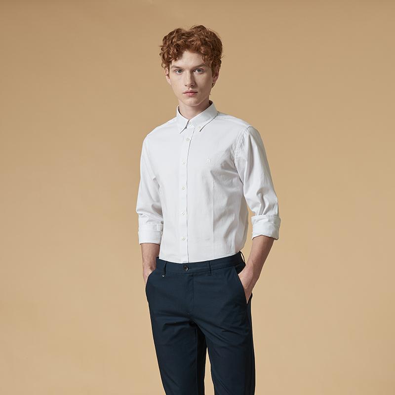 休闲长袖衬衫