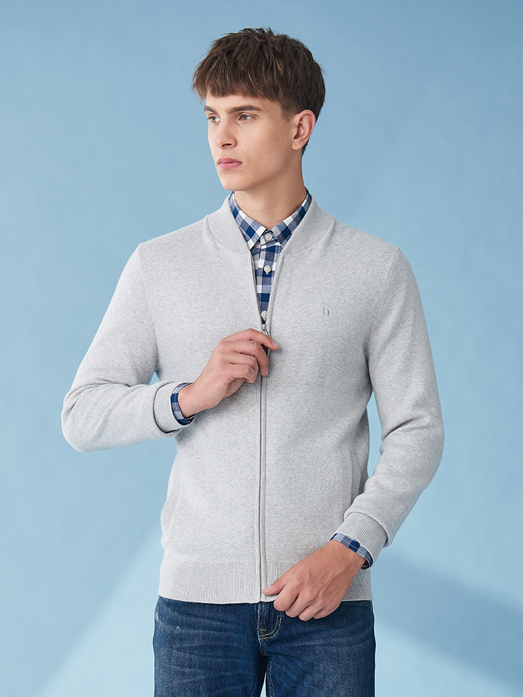 MA-1款型针织衫