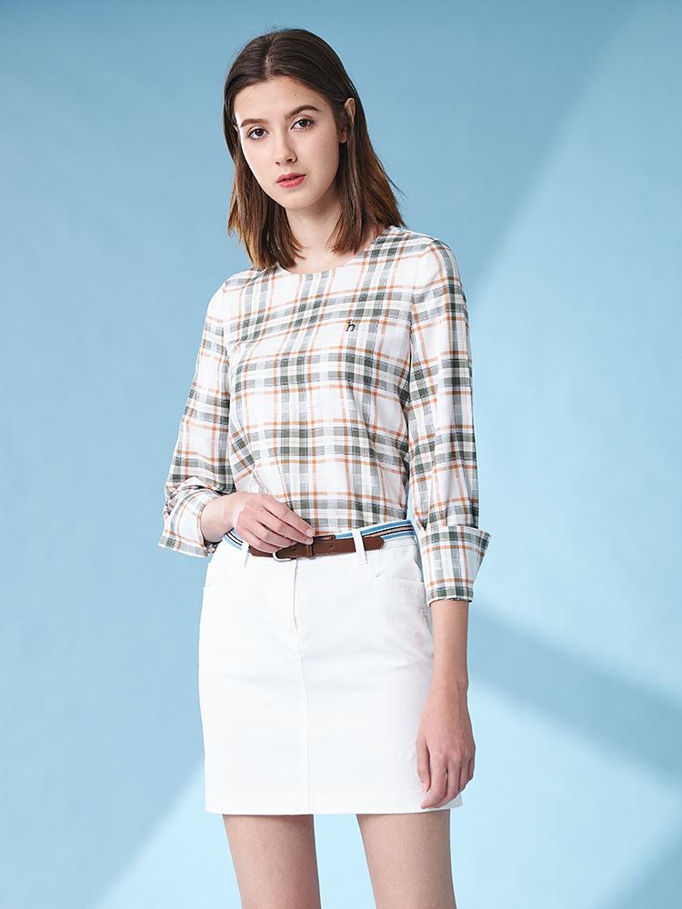 H型棉弹基本短裙