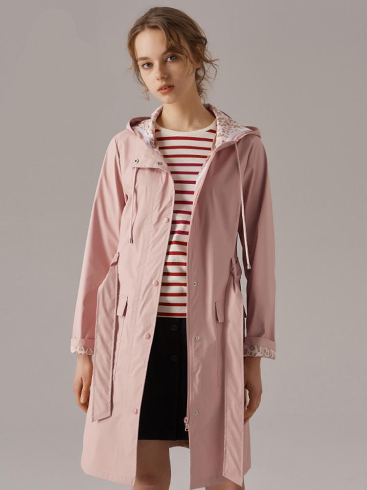 全PU防风防水功能性雨衣夹克