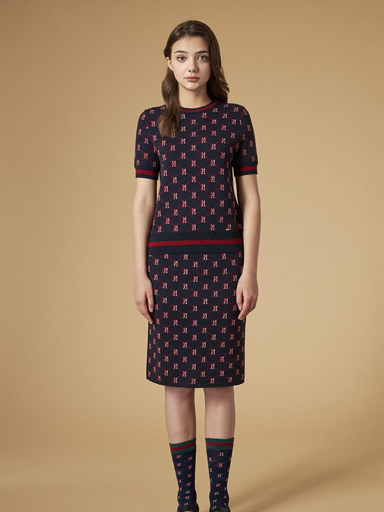 针织短裙(套装)